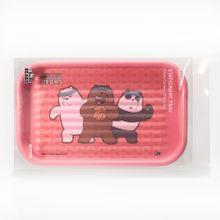 Organizador de papelería  We Bare Bears, Mediano, Rojo