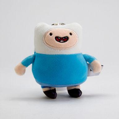 Llavero de peluche Finn Adventure Time, Pequeño, Multicolor