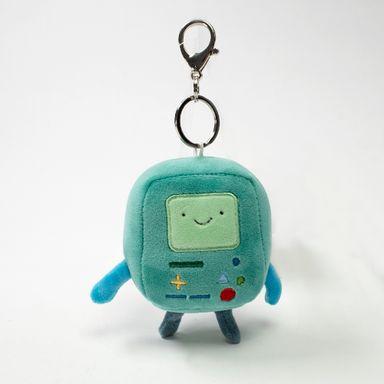 Llavero de peluche BMO Adventure Time, Pequeño, Multicolor