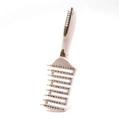 Cepillo de cabello esqueleto con ventilación, Mediano, Multicolor