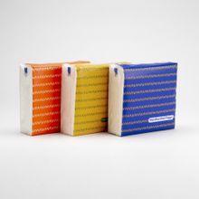 Paquete de pañuelos desechables 6 paquetes, Grande, Multicolor