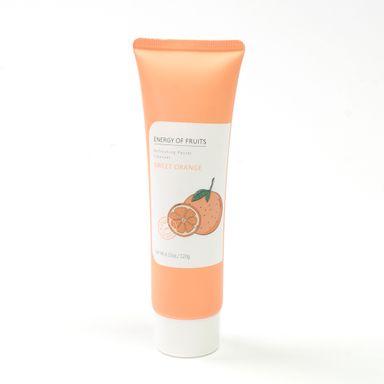 Limpiador facial frutas 120 ml, Pequeño, Naranja