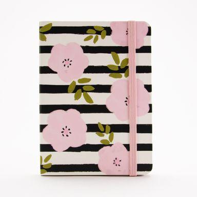 Cuaderno de notas de pasta dura Floral series, Mediana, Multicolor