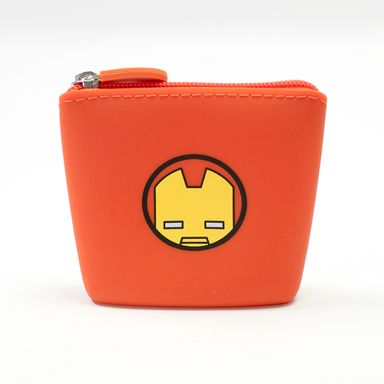 Monedero silicona Iron Man Marvel, Pequeño, Rojo