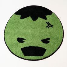 Tapete redondo Hulk Marvel, Grande, Verde