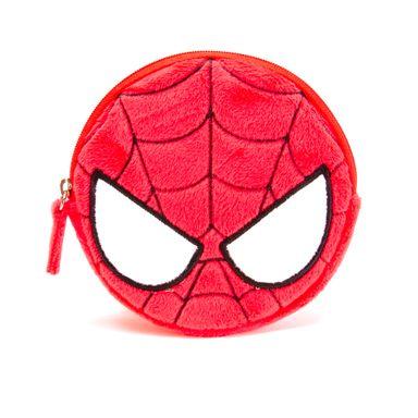 Monedero de peluche Spider Man, Pequeño, Rojo