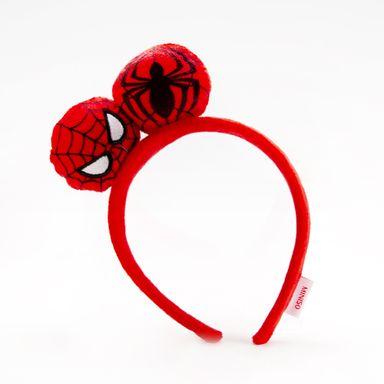 Diadema Spider Man Marvel, Mediana, Roja