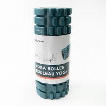 Rodillo para yoga, Pequeño, Azul