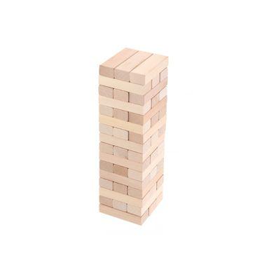 Juego torre de bloques de madera, Mediano, Natural