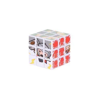 Cubo Rubik 3x3 Marvel, Pequeño, Multicolor