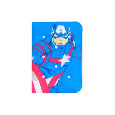 Cuaderno Capitán América Marvel, Mediana, Azul