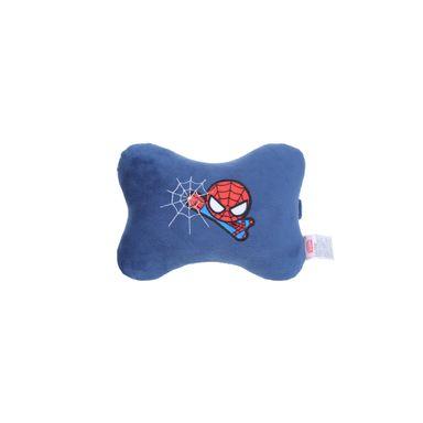 Almohada de peluche forma de hueso Spider Man Marvel, Mediana, Azul oscuro