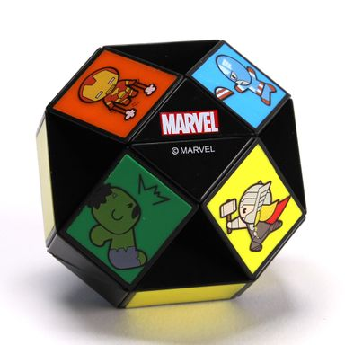Regla mágica 24 secciones Marvel, Pequeña, Multicolor