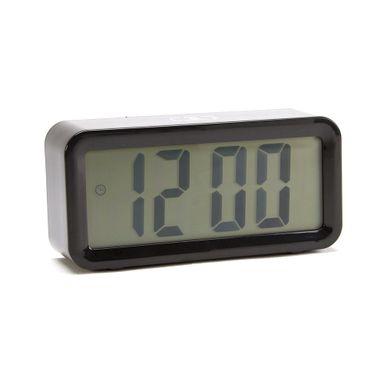 Reloj despertador digital moderno, Pequeño, Negro