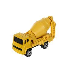 Carro de juguete Mezcladora de cemento 1:64, Mediano, Amarillo
