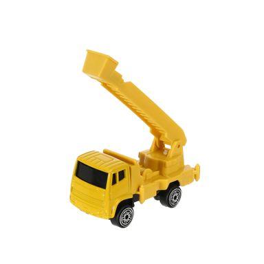 Carro de juguete Camión grúa 1:64, Mediano, Amarillo
