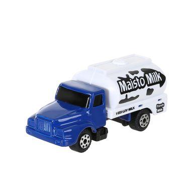 Carro de juguete Tractomula 1:64, Mediano, Azul y blanco