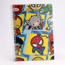 Cuaderno argollado 100 hojas Marvel, Grande, Multicolor