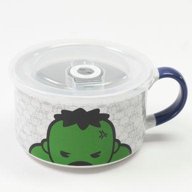 Taza de cerámica 650 ml Hulk Marvel, Grande, Blanco