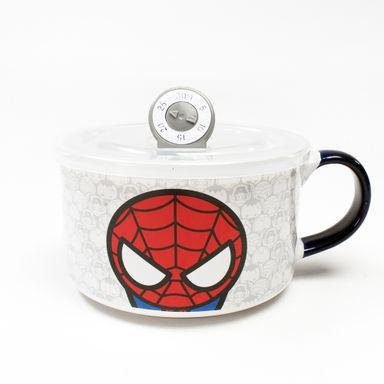 Taza de cerámica 650 ml Spider Man Marvel, Grande, Blanco