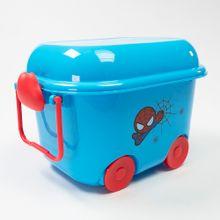 Carrito organizador almacenamiento Spider Man Marvel, Mediano, Azul / Rojo