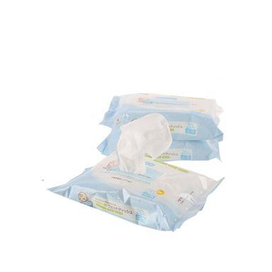 Toallas húmedas Bebe sin fragancia, Mediana, Azul