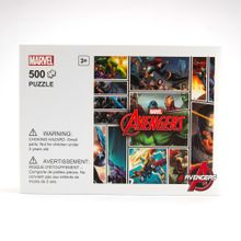 Rompecabezas 500 piezas Marvel, Mediano, Multicolor