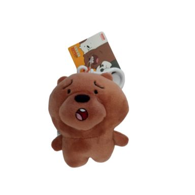 Llavero de osos We Bare Bears, Pequeño, Pardo