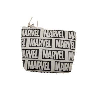 Monedero Marvel, Mediano, Negro