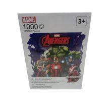 Rompecabezas 3 diseños 1000 piezas Marvel, Grande,  Morado