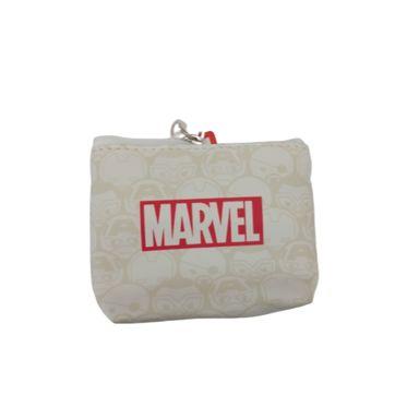 Monedero Marvel, Mediano, Blanco