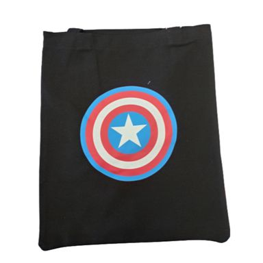 Bolsa de compras Logo Avenger Marvel, Grande ,  Capitan