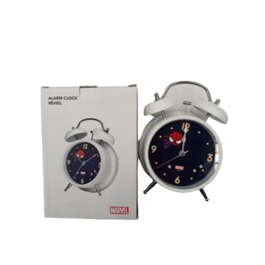 Reloj despertador Marvel, Pequeño, Azul