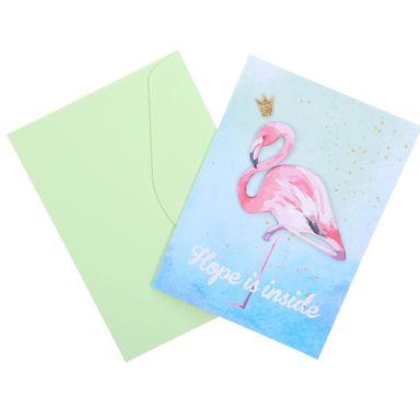 Tarjeta De Felicitacion, Diseños Tropicales, Pequeña