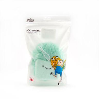 Esponja de baño Adventure Time, Mediano, Verde