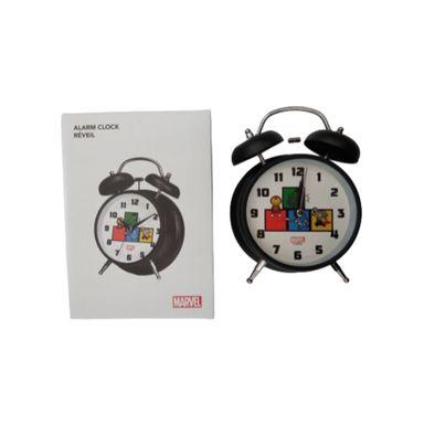 Reloj despertador Marvel, Pequeño, Negro