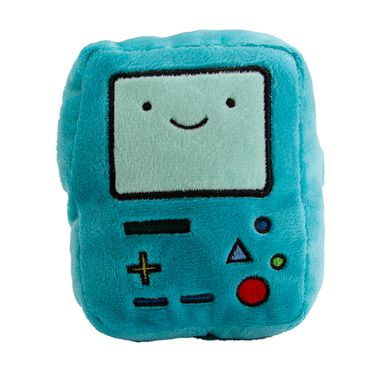 Cojín de peluche BMO Adventure Time, Pequeño, Verde