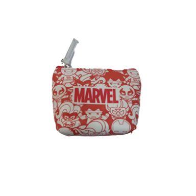 Monedero Marvel, Mediano, Rojo