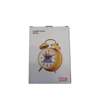 Reloj despertador Marvel, Pequeño, Amarillo