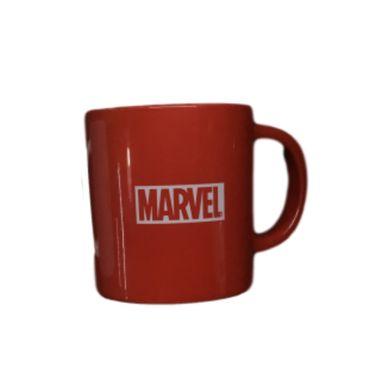 Mug de cerámica, 400 Ml , Marvel, Rojo
