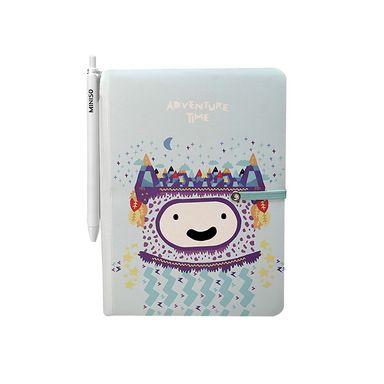 Cuaderno con esfero Adventure Time, Grande, Azul