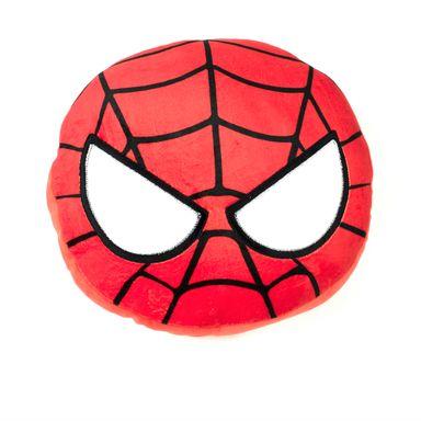 Almohada de peluche redonda Spider Man Marvel, Mediana, Multicolor