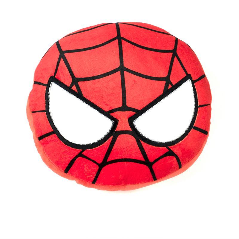 Almohada-de-peluche-redonda-Spider-Man-Marvel-Mediana-Multicolor-1-1487