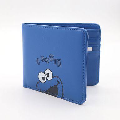 Billetera Para Mujer, Sesame Street, Pequeña, Azul