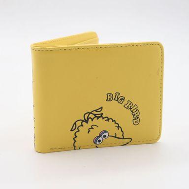 Billetera Para Mujer, Sesame Street, Pequeña, Amarillo