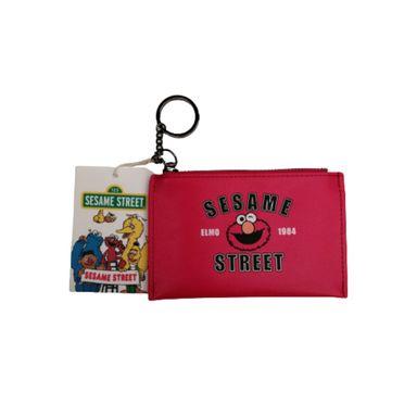 Monedero Llavero, Sesame Street, Pequeño, Rojo