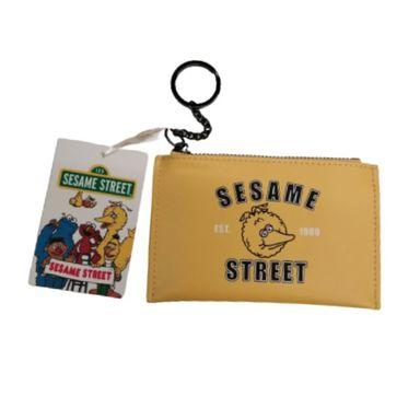 Monedero Llavero, Sesame Street, Pequeño, Amarillo