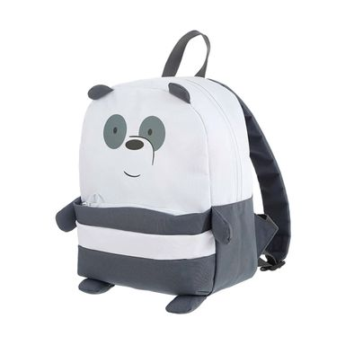 Morral Simple Panda,Osos Escandaloso, Mediano, Blanco