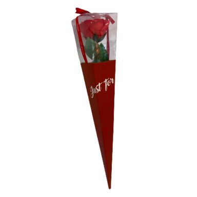Rosa Roja Artificial, Mediana, Roja
