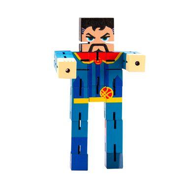 Juguete de madera armables Dr. Setrange Marvel, Mediano, Multicolor